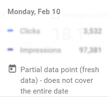 fresh data partial