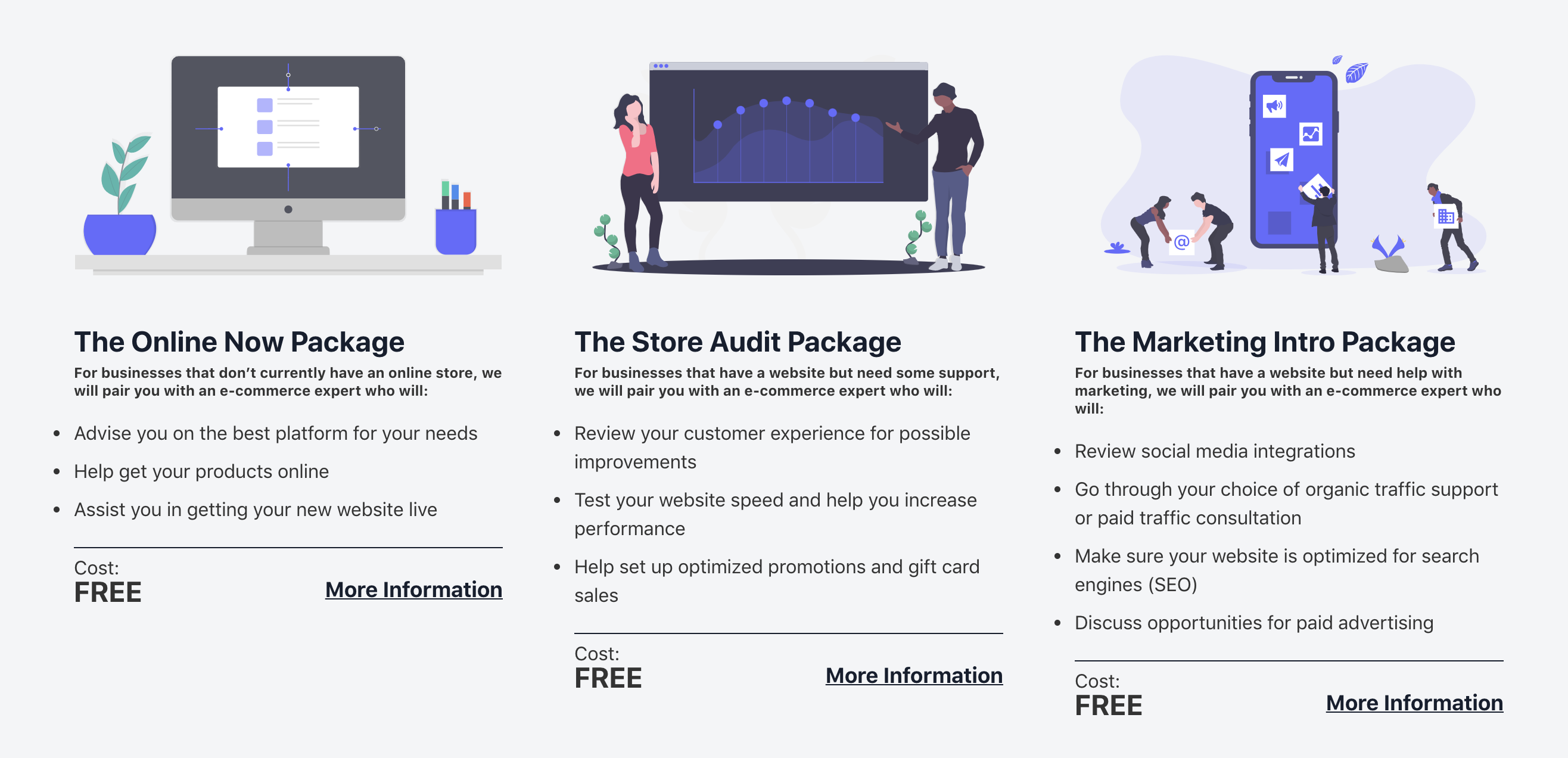 offline2on packages - website screenshot