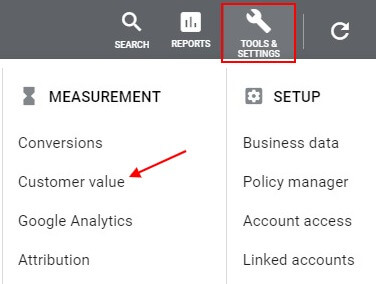 customer value report how to find it