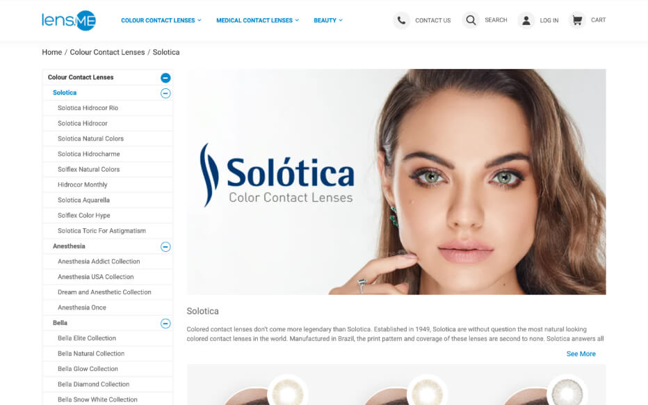 Health and fitness industry eCommerce store showcase